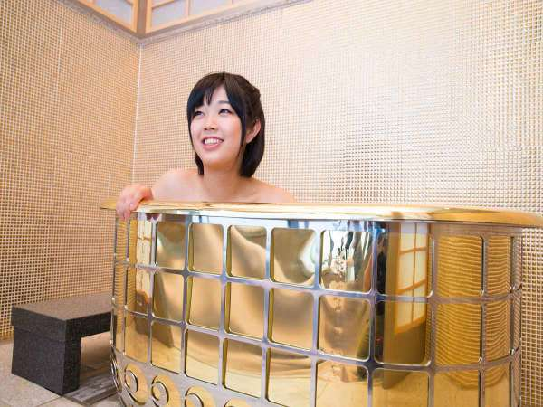 *【開運の湯:黄金風呂】2億9千万円相当の超豪華な開運風呂♪
