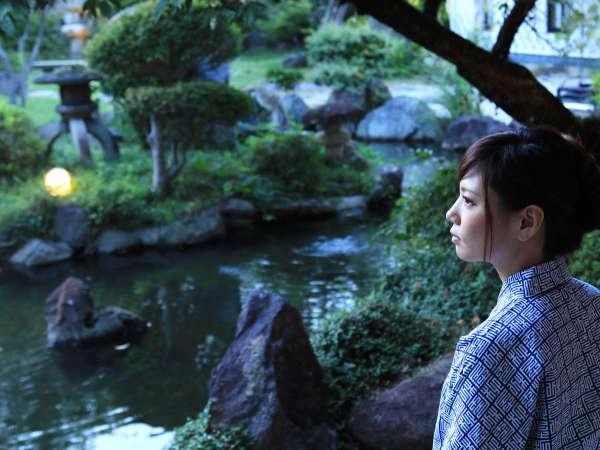 【甲州湯村温泉 柳屋 -yanagiya-】湯谷温泉街♪ 自然庭園と露天風呂 朝夕お部屋食!