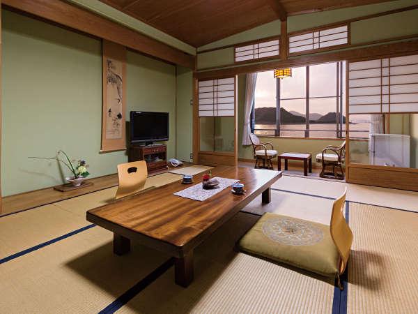 【限定2室特別室】瀬戸内の穏やかな景観に癒される客室(32インチ液晶テレビ・加湿空気清浄機完備)