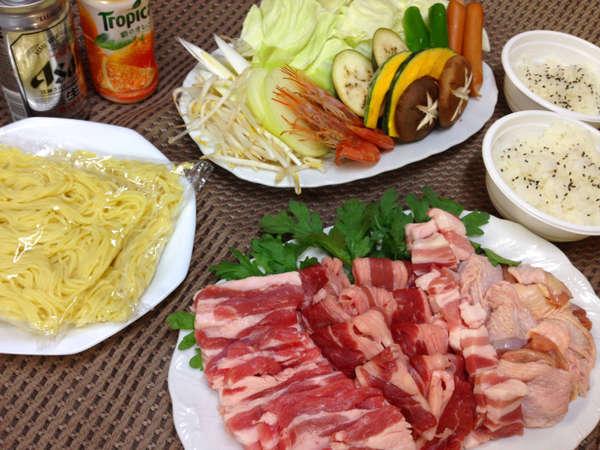 焼き肉セット【お食事一例】