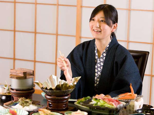 美味しいお料理と、楽しい館内♪あなたの彼女もこんな笑顔に...!