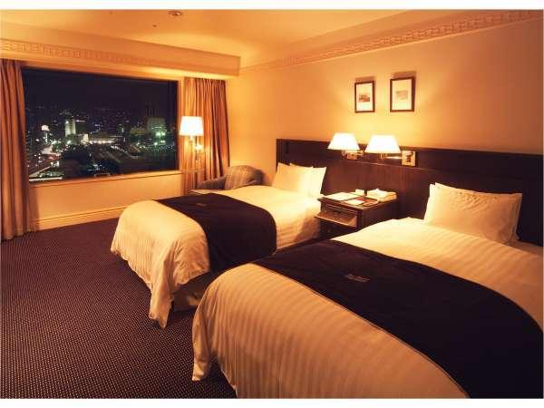 エグゼクティブフロア ツインルーム夜(約30平米・ベッド幅120cm)
