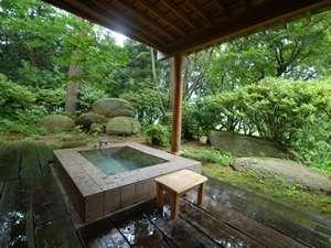 眺めが最高!106室【ローズマリー】プライベート露天風呂