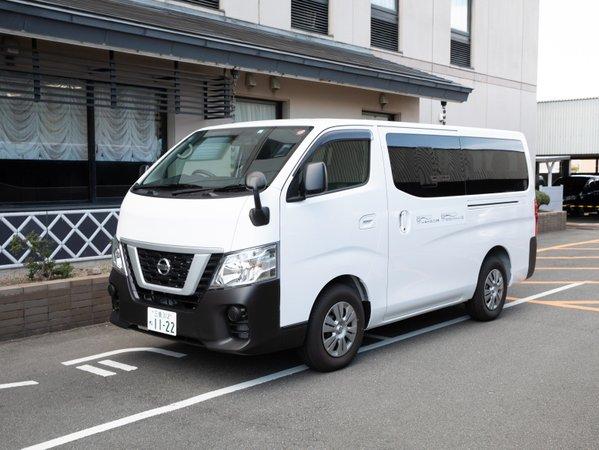 伊勢市駅とホテル間の無料送迎車が朝3便、夕方3便ございます。 外宮への参拝にも便利です。