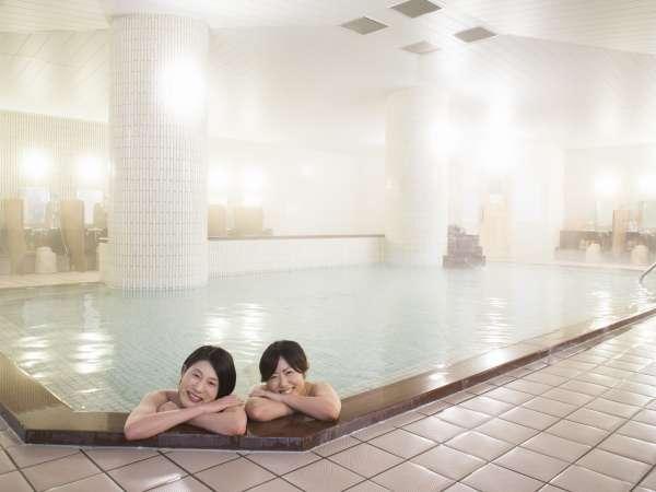 ■大浴場■セパレートされた洗い場や滑りにくい床など利用もしやすい