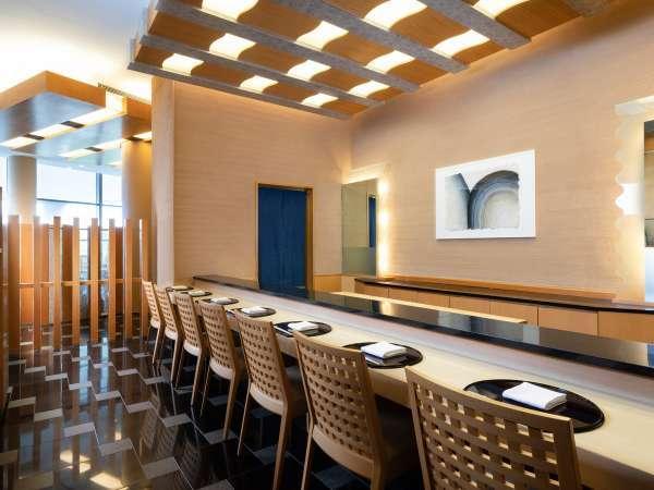 日本料理「あわみ」3階 寿司カウンター