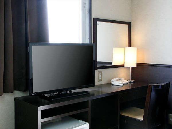 ワイド液晶テレビ設置32~40インチの大型テレビに全室リ二ューアル