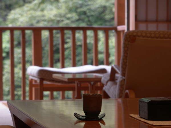 『お部屋からの景色』四季折々に美しい景観をご覧いただけます。