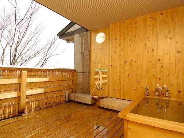 半露天付き客室「霧島」のお風呂