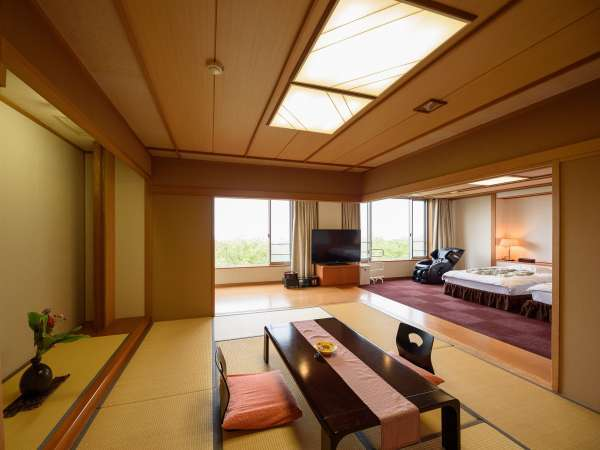 さくら亭で一番広い和洋の特別室「別府」