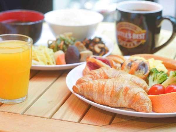 朝食バイキング 洋食プレート