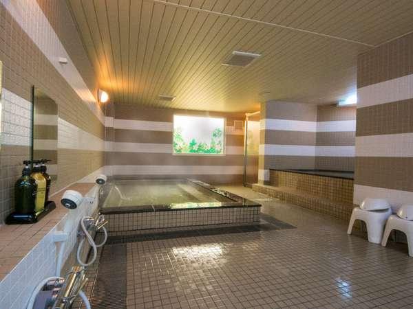 【女性用大浴場】サウナはないですが、ゆったり広々の空間を利用できます♪