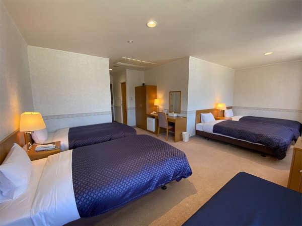 【4ベッドルーム】34㎡最大4名様までご宿泊頂ける限定1室の客室です(バストイレ付)