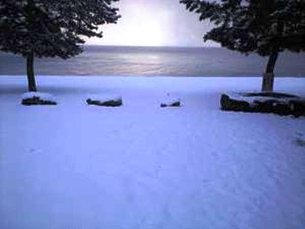 冬の琵琶湖です♪