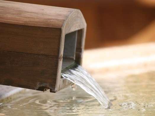 複数の源泉を掛け合わせた「源泉かけ流し」