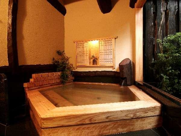 【貸切風呂】ヒノキの香り漂う、新・桧の湯