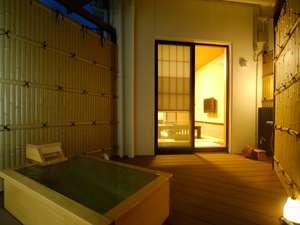 【別邸】プライベート空間が満喫できる露天風呂