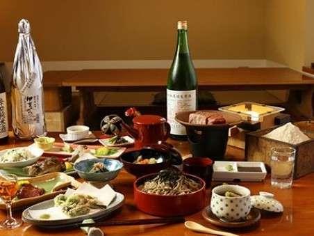 地元食材をふんだんに使った里山料理