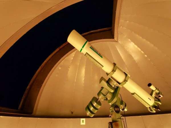 ホテル最上階の天文台では毎晩星の観察会を行っております。(悪天候の場合プログラムを変更致します)