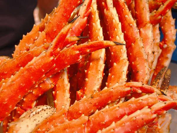 タラバガニorズワイガニ!お好きなカニをお腹いっぱいに食べるプラン★※画像はイメージです。*