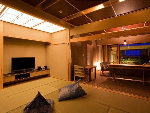 """■ ヴィラ楽園""""星の庭""""タイプF・客室一例"""