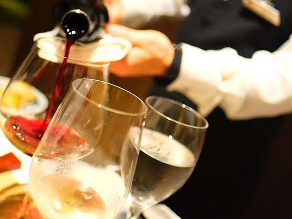 ディナータイムのおすすめワイン