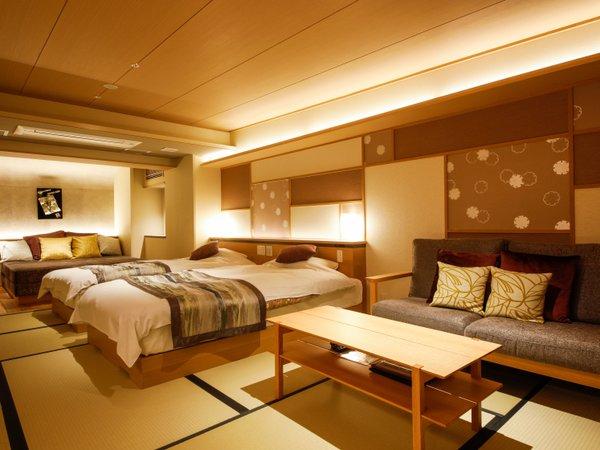 【新客室】801温泉露天風呂付き特別室76平米(部屋食)