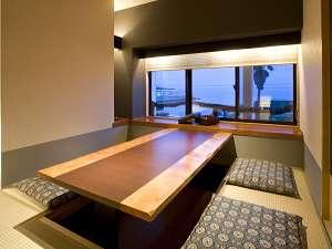 ◆お食事処◆小部屋ですべて掘りごたつ席です。※禁煙席となります