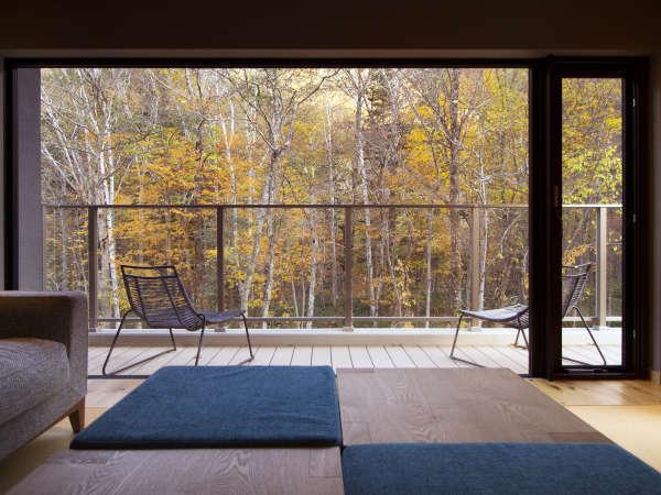 【藍】秋・お部屋からの景色