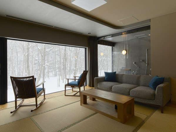 【藍】室内イメージ・冬
