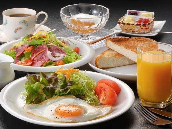 特別料理:朝食ーパンのコース