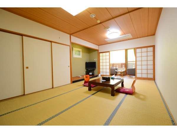 和室(写真は12畳の和室・和室は全てトイレ無し)