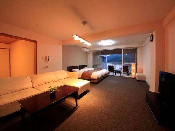 【和洋室/85㎡】85㎡の広々空間。8名様までご宿泊可能♪