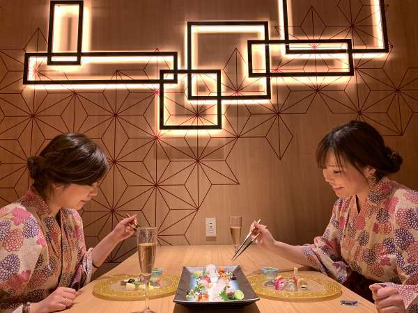 2020年3/20オープン!デザイナーズルームで過ごす寛ぎの食空間☆個室ダイニング「彩」