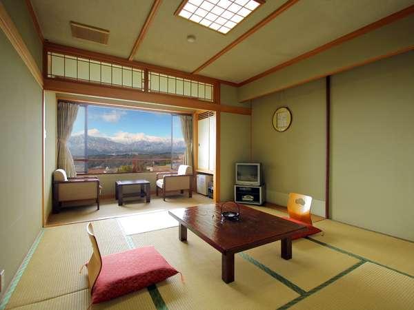 【写真は和室一例】ご人数や部屋の空き具合によって、振分けさせていただきます。