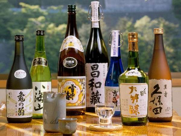 新潟地酒の一例