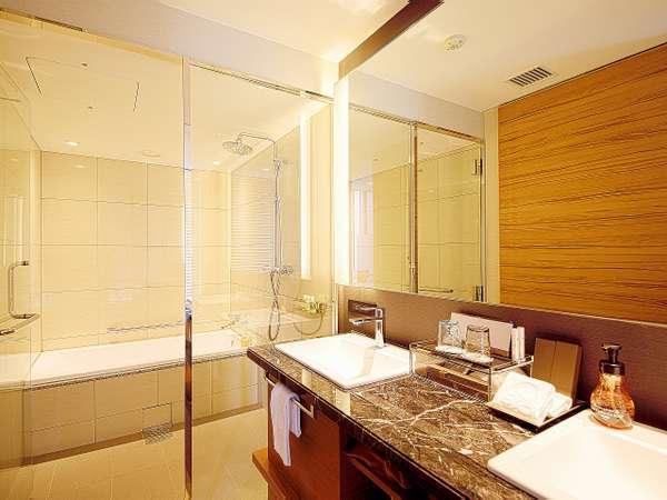 プレミアムコーナールーム バスルーム(全室バス・トイレが別室のセパレート)