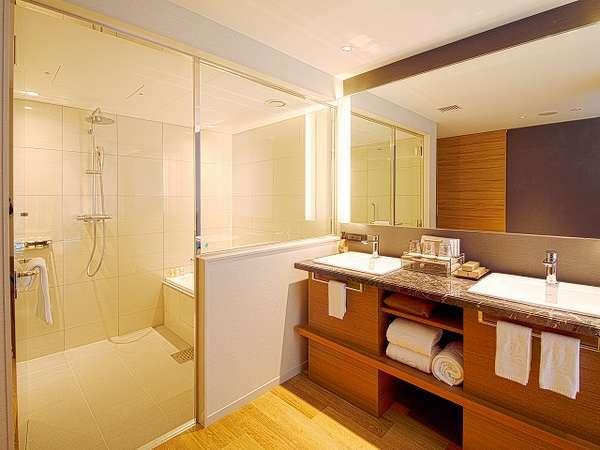 デラックスコーナールーム バスルーム(全室バス・トイレが別室のセパレート)