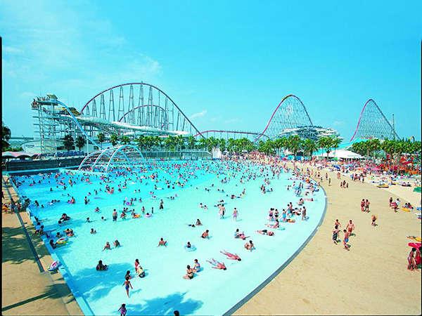 ざっぶ~ん♪大人も、子どもも楽しめる!★東海地区最大級★ナガシマスパーランドで忘れられない夏を!