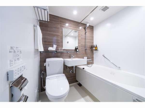 [バスルーム] 一例:シンプルで落ち着きのあるデザイン♪