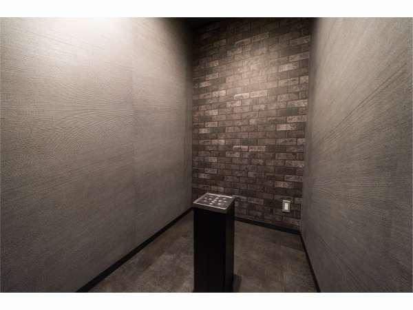 【1F】喫煙室:喫煙される方はこちらをご利用下さい。