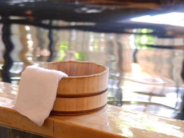 【大浴場/朋來の湯】美肌の湯としても有名な温泉。湯上りのお肌はスベスベです