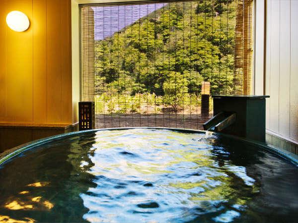 ■貸切風呂<花浅葱>■2017年春オープン!大切な人とゆっくりと…♪誰にも邪魔されない至福のとき。