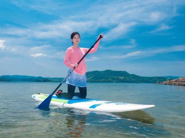 【SUP体験】人気急上昇中のSUPで海上散歩を楽しもう!※イメージ