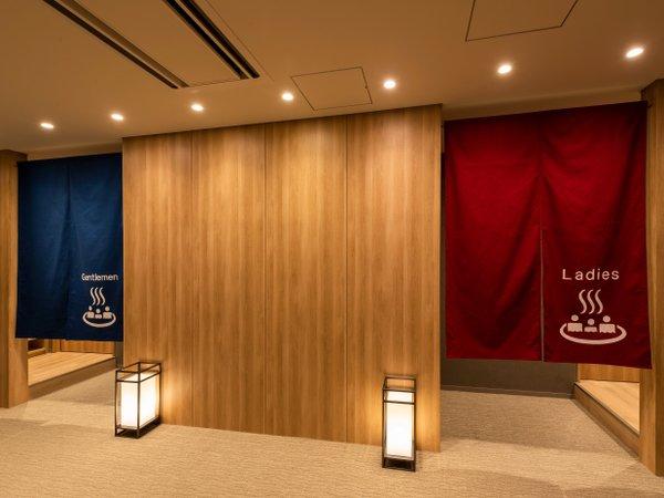 14階天然温泉大浴場入口