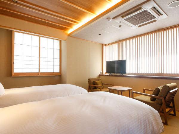 モデレートコーナー和室Bベッド付(36平米)※客室内の間取りはフォトギャラリーをご参照ください