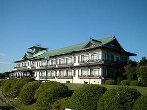 昭和9年開業 近代化産業遺産認定を受けた蒲郡クラシックホテルの外観