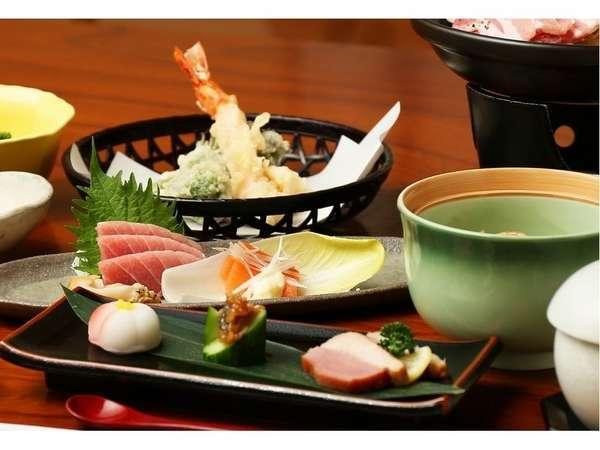料理一例 お料理を楽しみながら、ゆっくりとお過ごしください