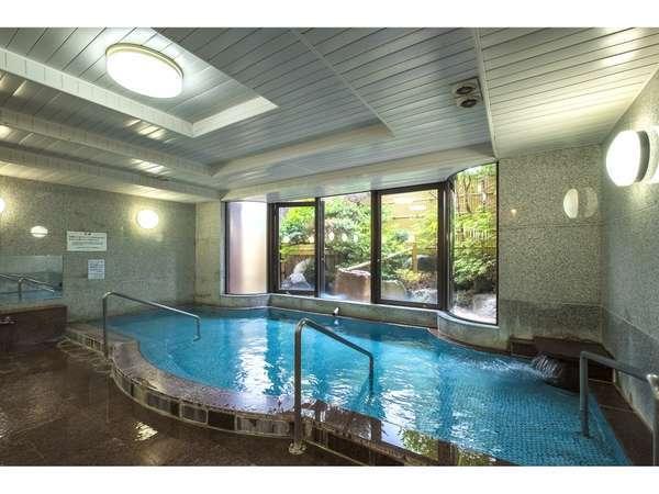 女性大浴場。当ホテルの源泉は、芙蓉の湯を利用しています。
