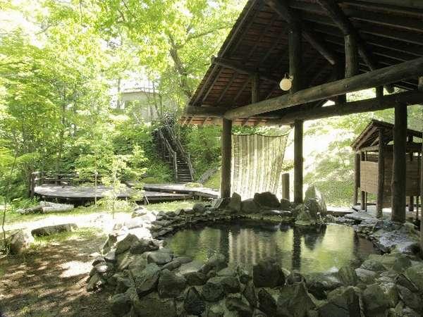 【糠平舘観光ホテル】東大雪の豊かな自然と一体化した「露天風呂」が自慢の温泉宿